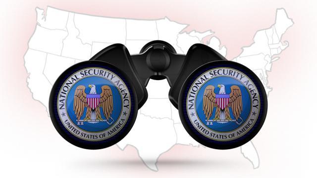 NSA binoculars4 75% من حركة الإنترنت في أمريكا يمكن التجسس عليها