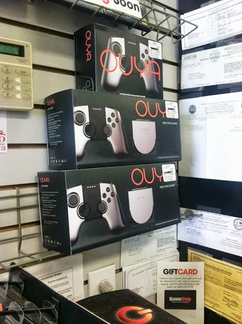 OUYA on shelves