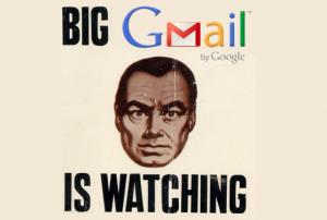 gmail watching 300x202 جوجل : سياسة الاستغباء و حقيقة التجسس و انتهاك خصوصيات الناس