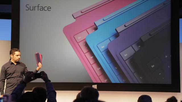 ثلاثة ألوان كل ما تودّ معرفته عن Surface Pro 2 وSurface 2 من مايكروسوفت