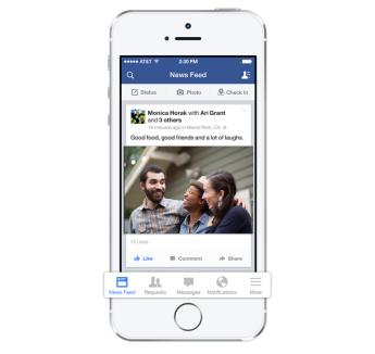 فيس بوك على ios