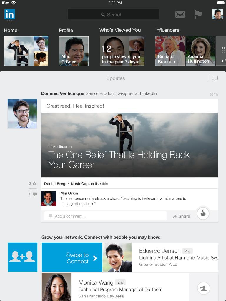 iPad-App-Homepage