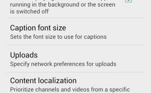 يوتيوب تحضر لتشغيل مقاطع الموسيقى في الخلفية على الأندرويد