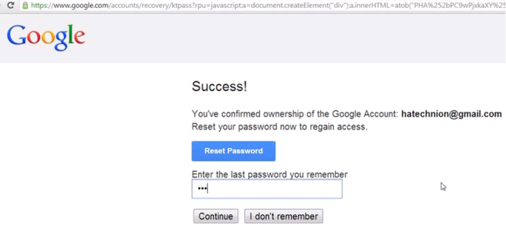 Hacking Gmail account 1