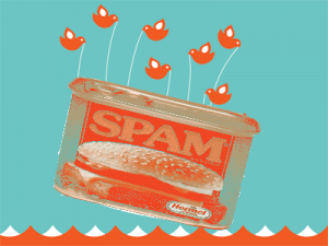 SPAM Fail 5 سلوكيات سيئة جدا على تويتر تفقدك المصداقية