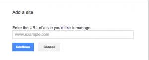 Screen Shot 2013 11 29 at 08.04.04 300x121 مقدمة عن ادوات مشرفي المواقع Google Webmaster tools