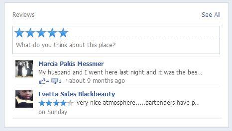 Stars فيس بوك تختبر تقييم النجوم للصفحات