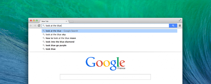 Google adds search button to omnibox