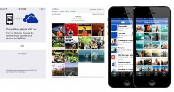 تحديثات SkyDrive الجديدة لنظام iOS7  تتيح رفع الصور تلقائياً