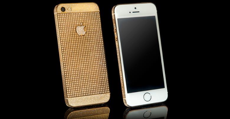 آيفون 5 إس سوبر نوفا الذهبي آيفون 5 إس سوبر نوفا .. سعره يتجاوز 6 آلاف دولار!