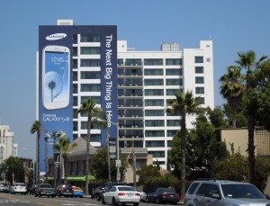 Samsung GalaxySIII billboard Jul12