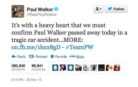 Screen Shot أهم ثلاثة تغريدات على تويتر لعام 2013