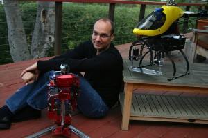 Google Puts Money on Robots, Using the Man Behind Android
