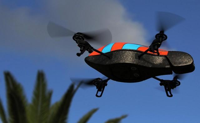 parrot drone  وكالة الأمن القومي يمكنها التجسس على الشبكات اللاسلكية من بعد 12 كيلومتر