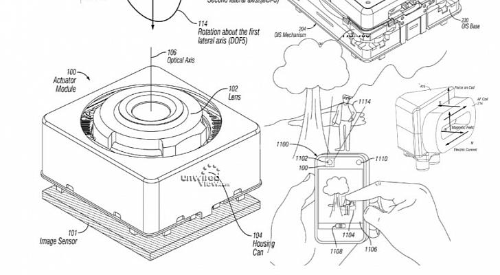 أبل تحصل على براءة اختراع تقنية VCM OIS لكاميرا آيفون 6 - عالم التقنية