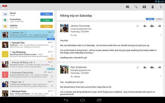 gmail android جوجل تحدّث جيميل لأندرويد لجلب ميزة إظهار الصور تلقائيًا