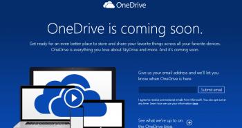 مايكروسوفت تغير اسم سكاي درايف إلى OneDrive