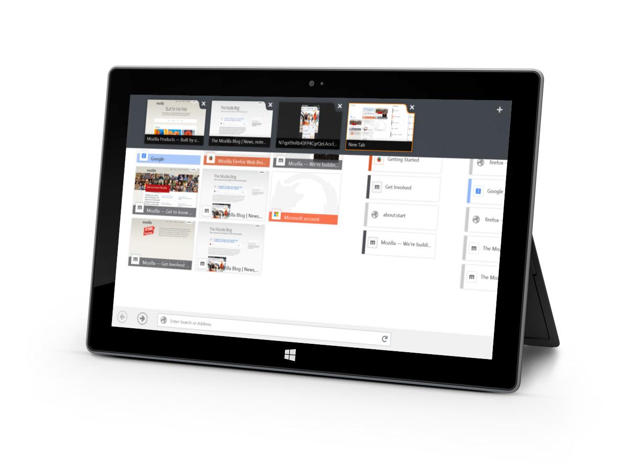 موزيلا تُطْلق الإصدار التجريبي من تطبيق فايرفوكس على ويندوز 8 - عالم التقنية