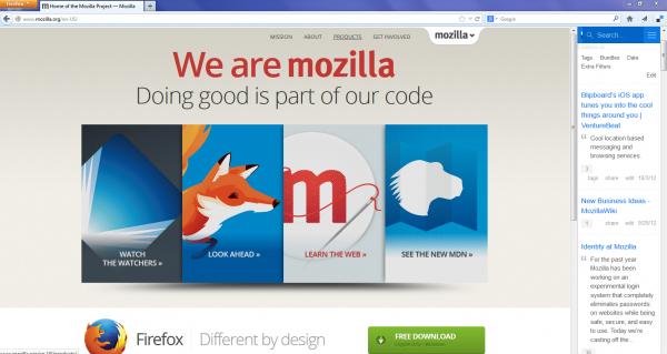 موزيلا تطلق تحديث فايرفوكس لمعظم