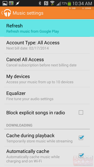 Google Play Music - 5.4.5