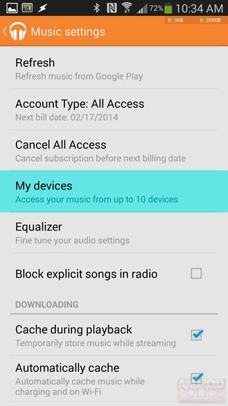 Google Play Music - 5.4