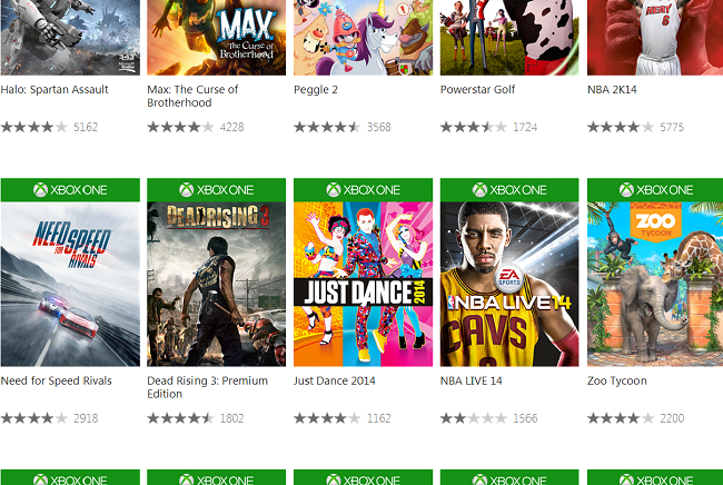 Xbox-One-Games-on-the-Web-Store