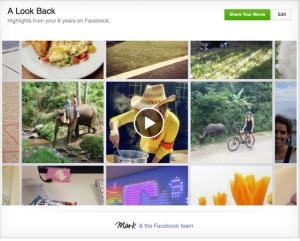 lookback facebook