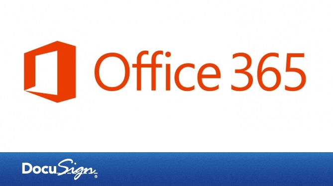 office 365 docusign