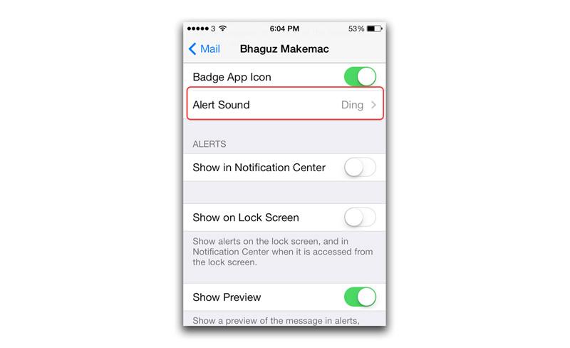 1212 شرح: طريقة إيقاف صوت إشعارات رسائل البريد الإلكتروني على iOS