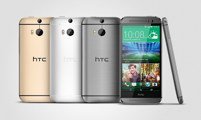 HTC One M8 Gunmetal_Silver_Gold