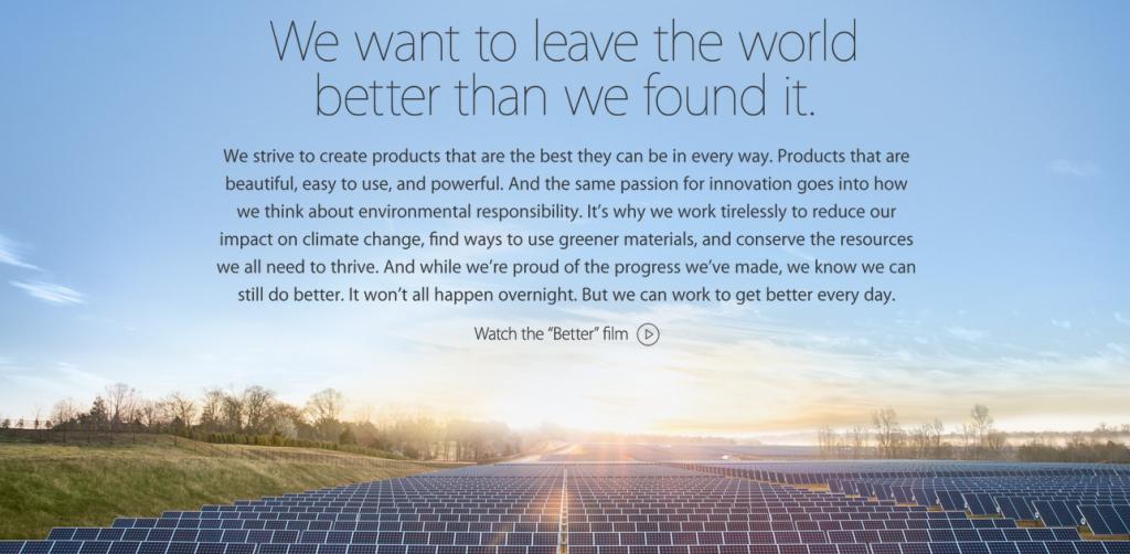 Apple : تستخدم الطاقة الشمسية من أجل Icloud