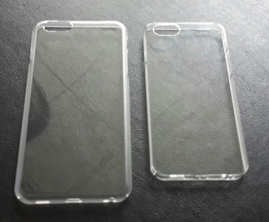 أغطية آيفون 6 الشفافة 1024x844 صورة مسربة لاثنين من أغطية آيفون 6 الشفافة