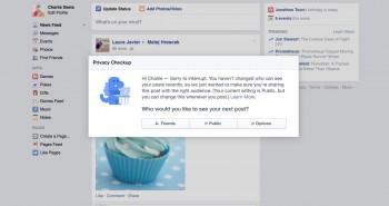 """فيس بوك تختبر ميزة """"ديناصور"""" الخصوصية"""