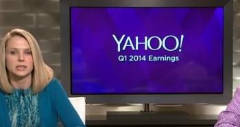 ياهو تكشف عن نتائجها المالية للربع الأول من 2014