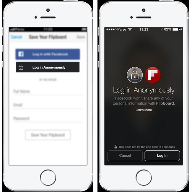 فيس بوك تتيح تسجيل الدخول المجهول في التطبيقات عالم التقنية