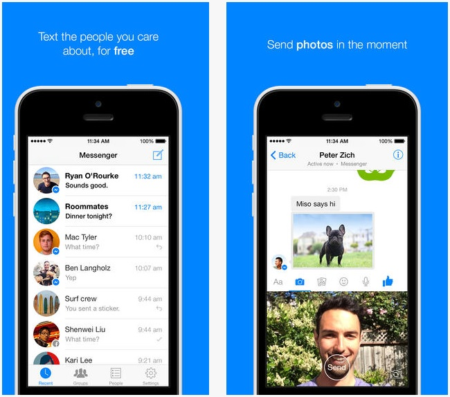 facebook messenger ios n