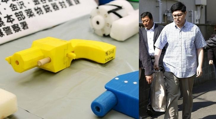القبض على ياباني قام بصنع مسدسات باستخدامه طابعة ثلاثية الأبعاد