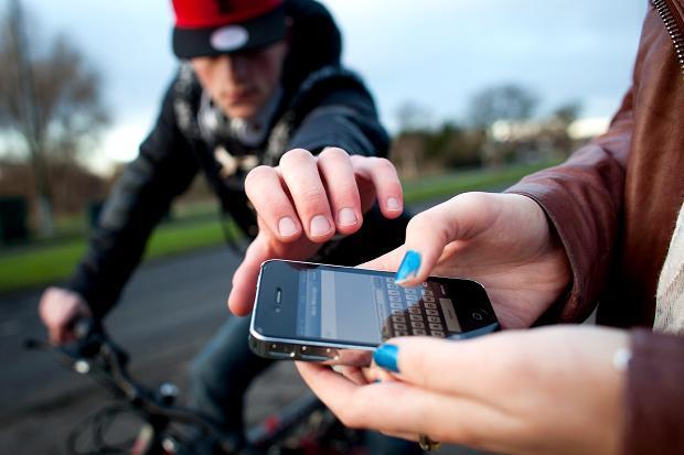 سرقة الهواتف المحمولة