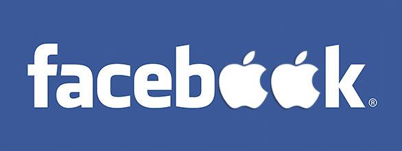 Facebook-Apple-logo