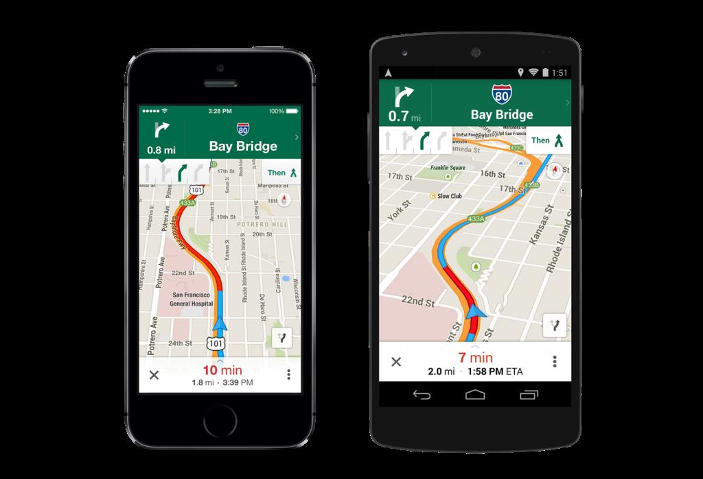 Navigation with Lane Guidance