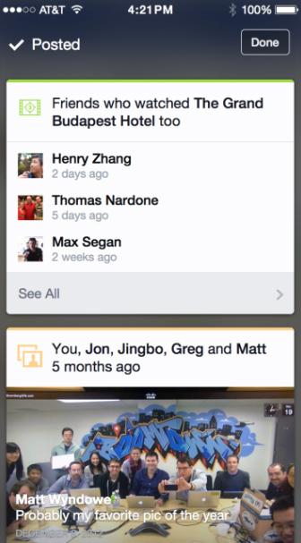 facebook Contextual Content