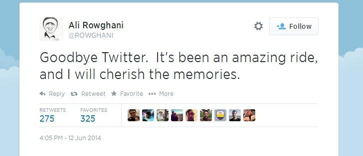 رئيس عمليات تويتر يستقيل رسميا