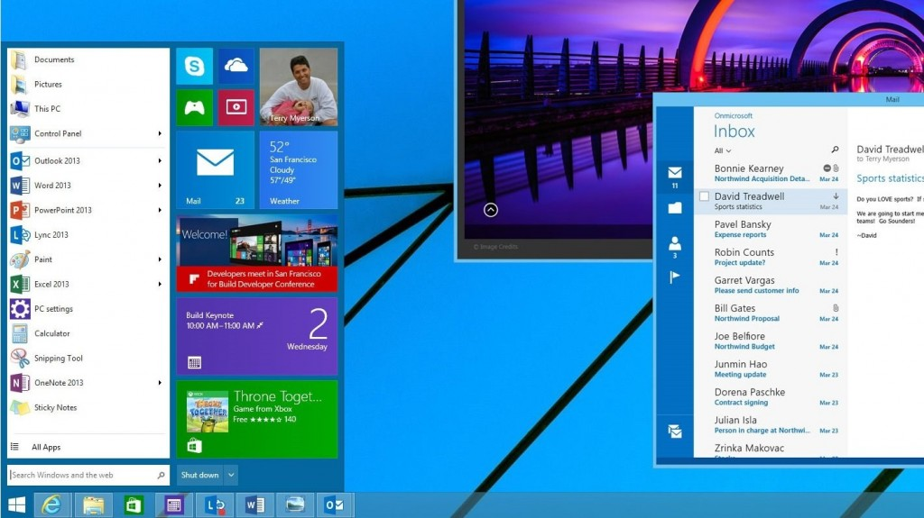 تقارير : Windows 9 يسمح للمُستخدمين بخيار لإيقاف واجهة مترو (مودرن)