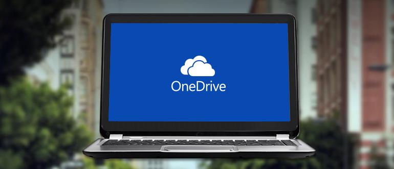 موقع OneDrive على الويب