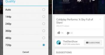 الآن يوتيوب على أندرويد يتيح لك تحديد دقة عرض الفيديو
