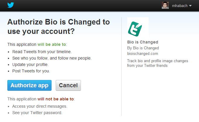 Bio Is Changed
