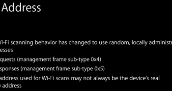 iOS 8 يمنع تتبع موقع المستخدم على الشبكات اللاسلكية العامة