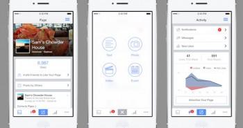 فيس بوك تُعيد تصميم تطبيق إدارة الصفحات