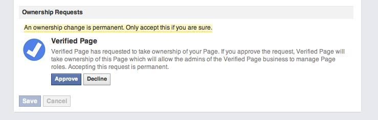 VerifiedPageOwnershipRequestPermanent
