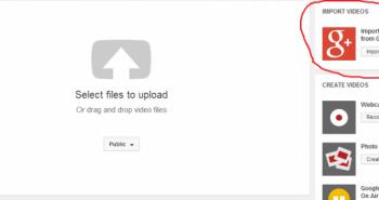 يوتيوب يتيح إمكانية إستيراد الفيديو من قوقل بلس قريباً